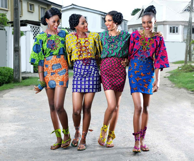 Nigeria ankara design