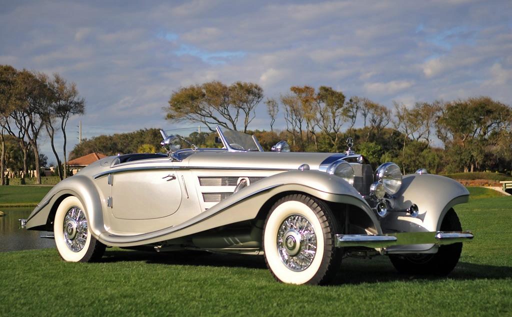 1937 Mercedes-Benz 540K Special Roadster by Sindelfingen