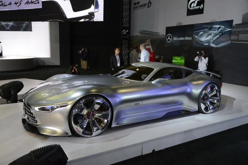 C112 Concept, Vision SLR Concept, AMG Vision GT Concept