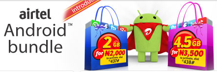Airtel android bundle