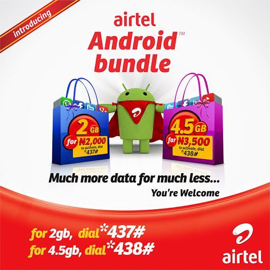 Airtel android data plan