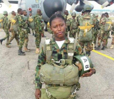 First Airborne qualified Female Nigeria Army Regular Officer